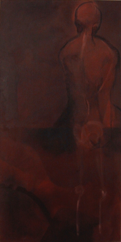 105x53 cm, oil on canvas, 2006
